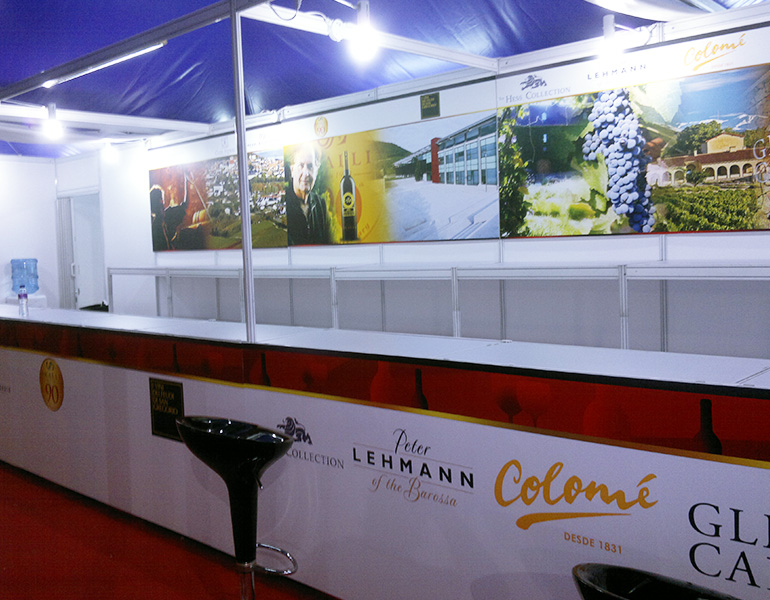 ASC Fine Wines Booth Event