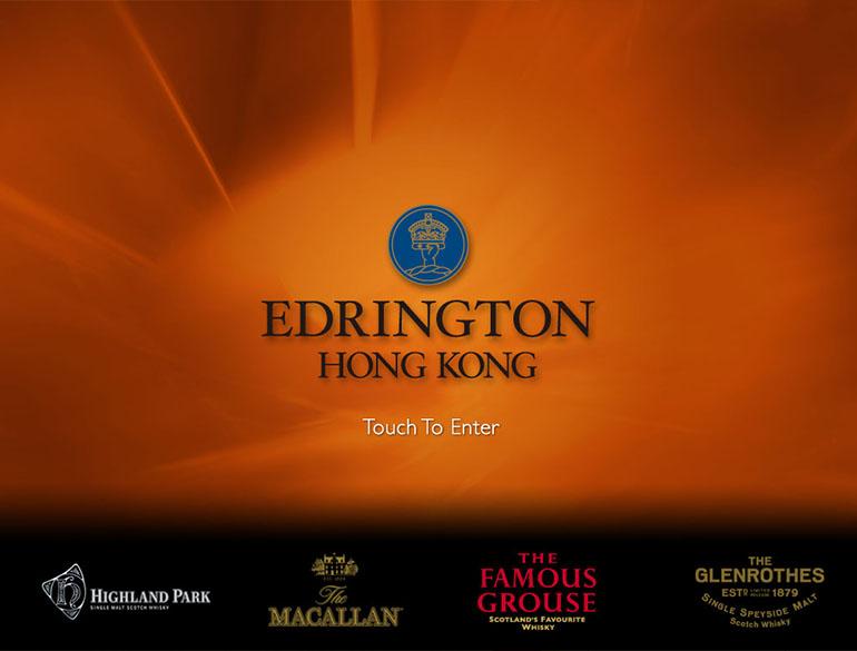 Edrington wine list App